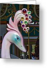 Swan Carrsoul Ride Greeting Card