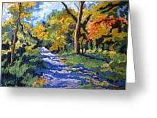 Swan Creek Pathway Greeting Card