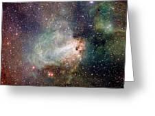 Swan Nebula (m17) Greeting Card