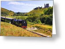 Swanage Steam Railway Greeting Card