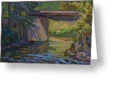 Swauk Creek Early Spring Greeting Card