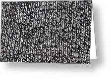 Sweater Background Greeting Card