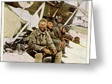 Swedish Aviator Lundborg, Who Greeting Card