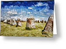 Swedish Standing Stones Greeting Card