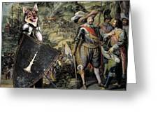 Swedish Vallhund  - Vastgotaspets Art Canvas Print Greeting Card