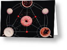 Sweet Alchemy Of Cooking Greeting Card