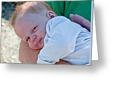 Sweet Baby Bubbles Art Prints Greeting Card