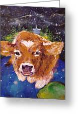 Sweet Buttercup Greeting Card