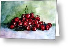 Sweet Cherries Greeting Card