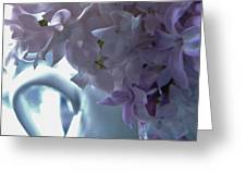 Sweet Cream Lilac Greeting Card