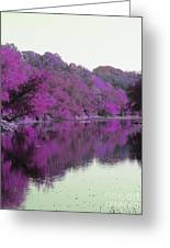 Sweet Fall Reflections Greeting Card