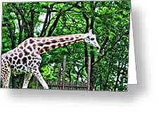 Sweet Giraffe Greeting Card