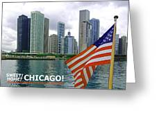 Sweet Home Chicago II Greeting Card