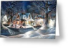 Sweet Homes Greeting Card