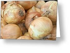 Sweet Onions Nj Grown Greeting Card