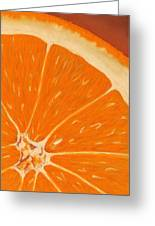 Sweet Orange Greeting Card