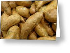 Sweet Potatoes Greeting Card