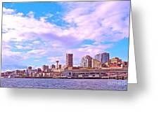 Sweet Seattle Greeting Card