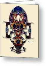 Sweet Symmetry - Projections Greeting Card