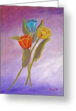 Sweet Tulips Greeting Card
