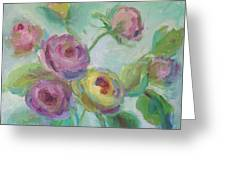 Sweetness Floral Painting Greeting Card