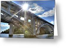 Swift Island Bridge 1 Greeting Card