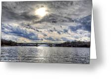 Swift Island Bridge 4 Greeting Card