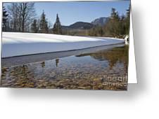 Swift River - Albany New Hampshire Usa Greeting Card