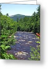 Swift River Mountain View Kancamagus Hwy Nh Greeting Card