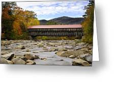 Swift River Vista Greeting Card