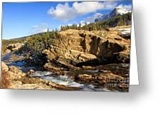 Swiftcurrent Creek Greeting Card