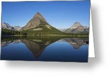 Swiftcurrent Panorama Greeting Card