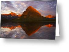 Swiftcurrent Reflection Greeting Card