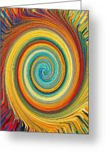 Swirl 82 Greeting Card
