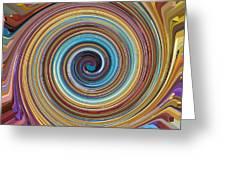 Swirl 85 Greeting Card