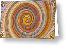 Swirl 91 Greeting Card