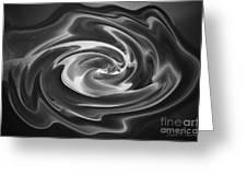 Swirl Wave V Greeting Card