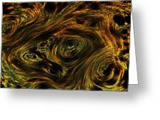 Swirling 2 Greeting Card