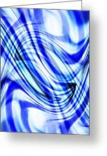 Swirling Abstract Greeting Card