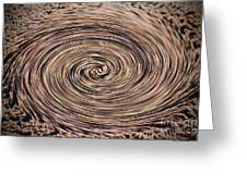 Swirling Sand Greeting Card