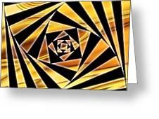 Swirling Spirals Greeting Card