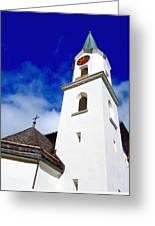 Swiss Church Greeting Card