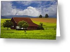 Swiss Farms Greeting Card