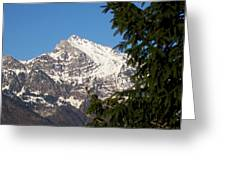 Swiss Greeting Card