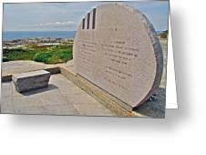 Swissair Flight 111 Of 1998 Memorial In Whalesback-ns Greeting Card