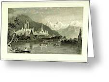 Switzerland. Illustrated In A Series Of Views Taken Greeting Card