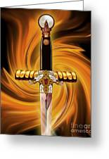 Sword Of The Spirit Greeting Card
