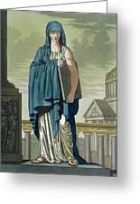 Sybil, Illustration From Lantique Rome Greeting Card