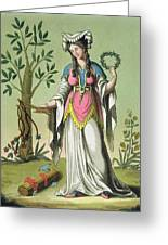 Sybil Of Delphi, No. 15 From Antique Greeting Card
