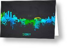Sydney Australia Greeting Card by Aged Pixel